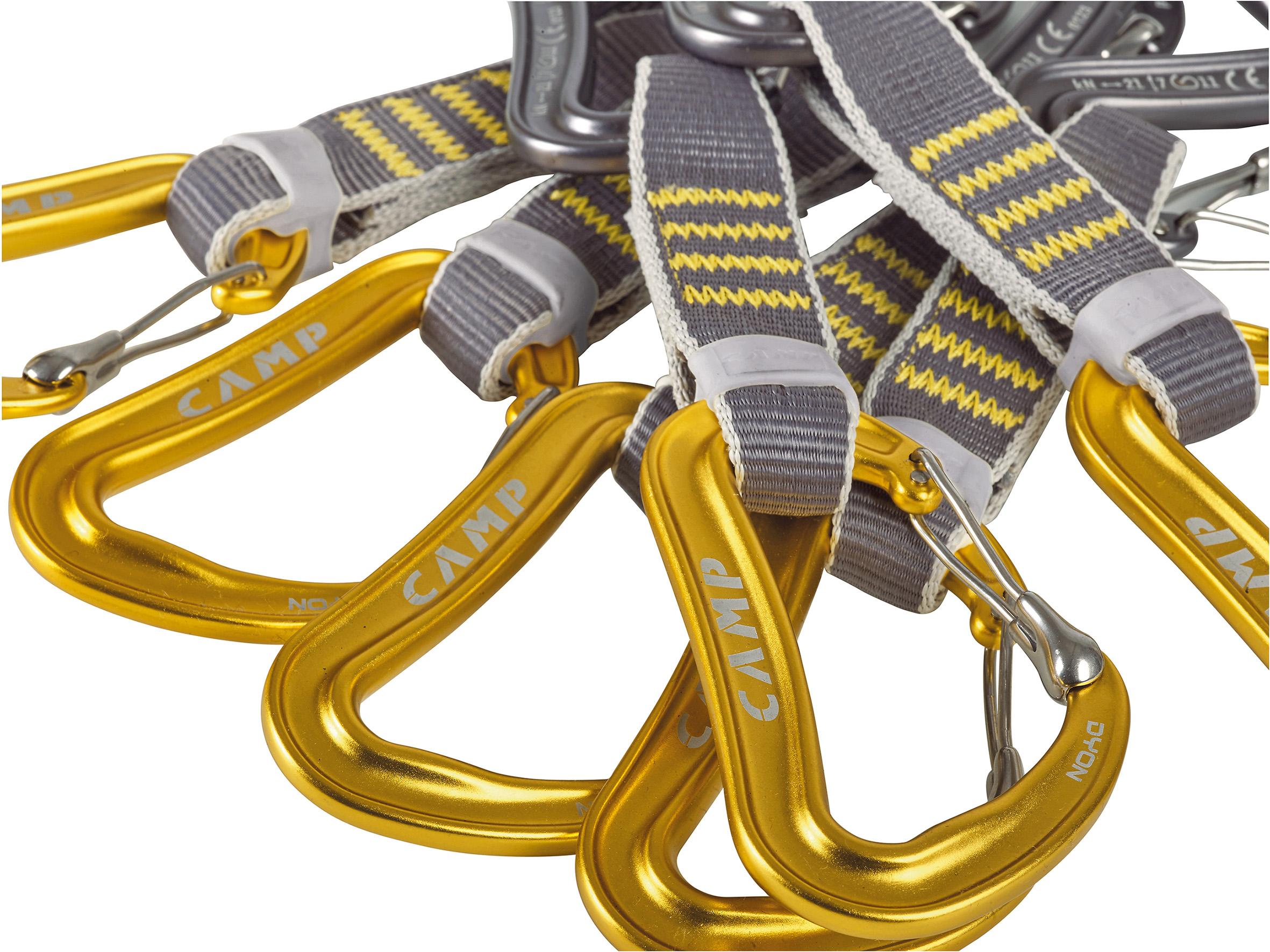 Sets of 6 pieces C.A.M.P. DYON EXPRESS KS 11 Premium Quickdraws by C.A.M.P.