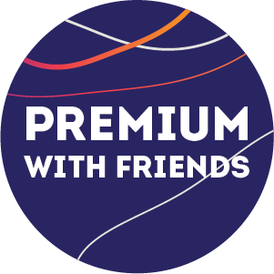 Free Premium with Friends Subscription by Vertical-Life